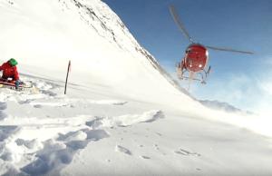 Heli-Ski In Spearhead Range Near Whistler