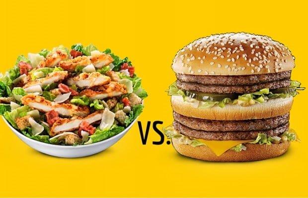 McDonald's Kale Salad Trumps Double Big Mac In Calories