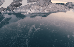 Ice Skating In The Mountains Of British Columbia (Video)