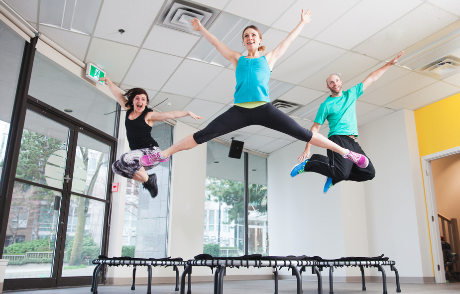 Vancouver's New Fitness Studio First To Offer Mini Trampoline Classes