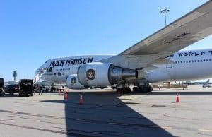 Iron Maiden Plane Vancouver