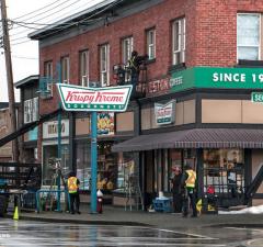 Krispy Kreme Pops Up In Richmond For Power Rangers Filming