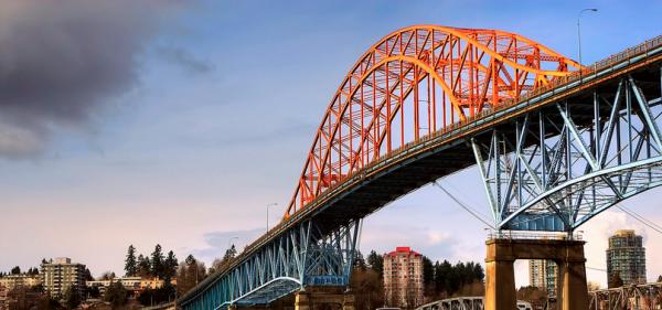 Pattullo Bridge To Undergo 5-Month Rehab; Expect Traffic Delays + Closures