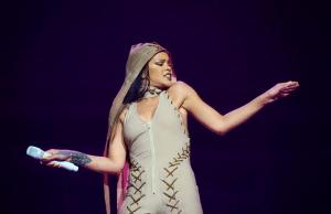 Rihanna And Travis Scott Light Up Rogers Arena (Photos + Video)