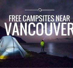 Free Campsites Near Vancouver