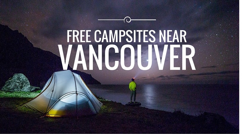 Free Campsites Near Vancouver