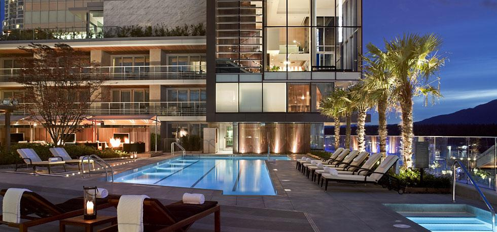 Top Rooftop Pools In Vancouver