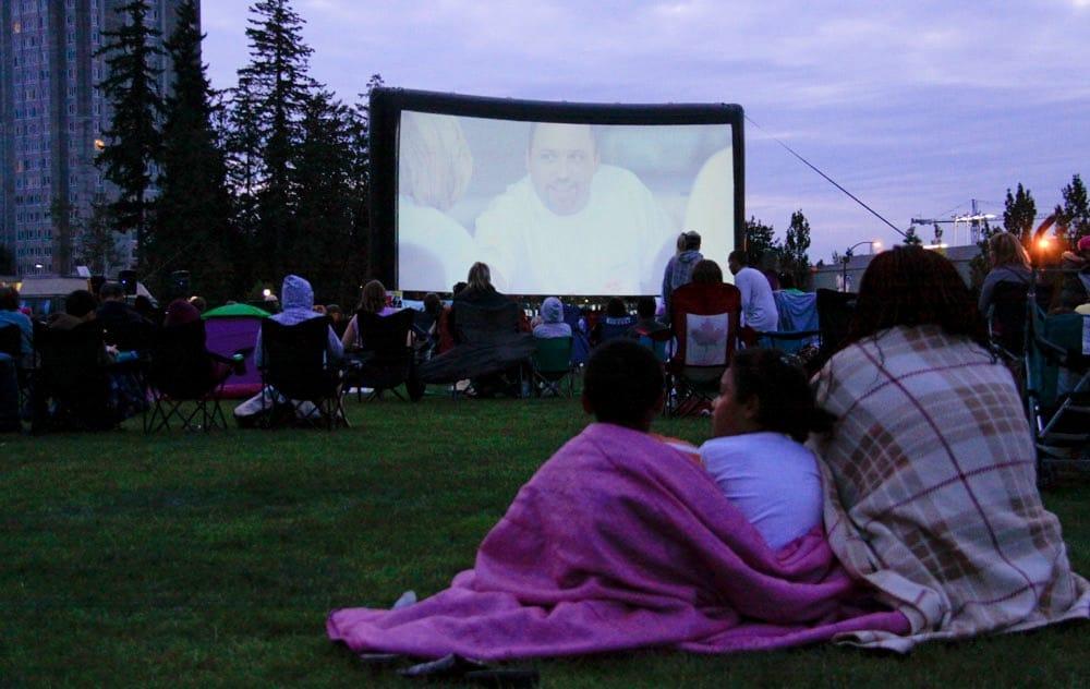outdoor movies metro vancouver guide