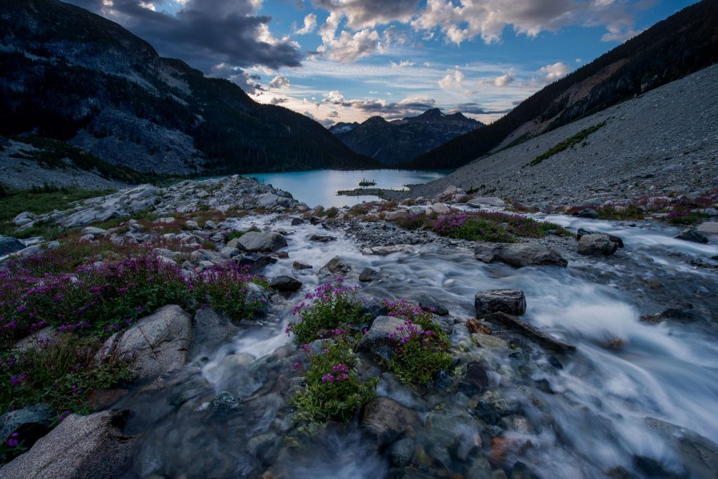 Joffre-Lake-evening