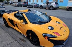 Someone In Vancouver Drives A $305K Pikachu McLaren - 604 Now