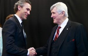 Pat Quinn Inducted Into The Hockey Hall Of Fame