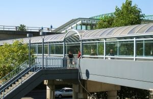 Metrotown Station's Iconic Pedestrian Walkway To Permanently Close