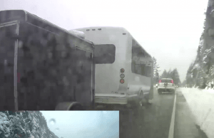 Dashcam Footage Captures Reckless Driver On Sea To Sky Highway