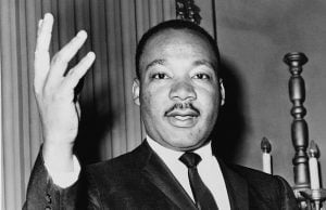 KKK Flyers Distributed in Abbotsford Target Martin Luther King Jr.