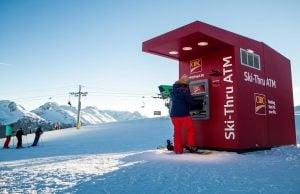 Ski thru ATM