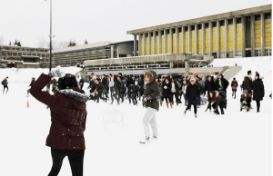 SFU Snowball Fight