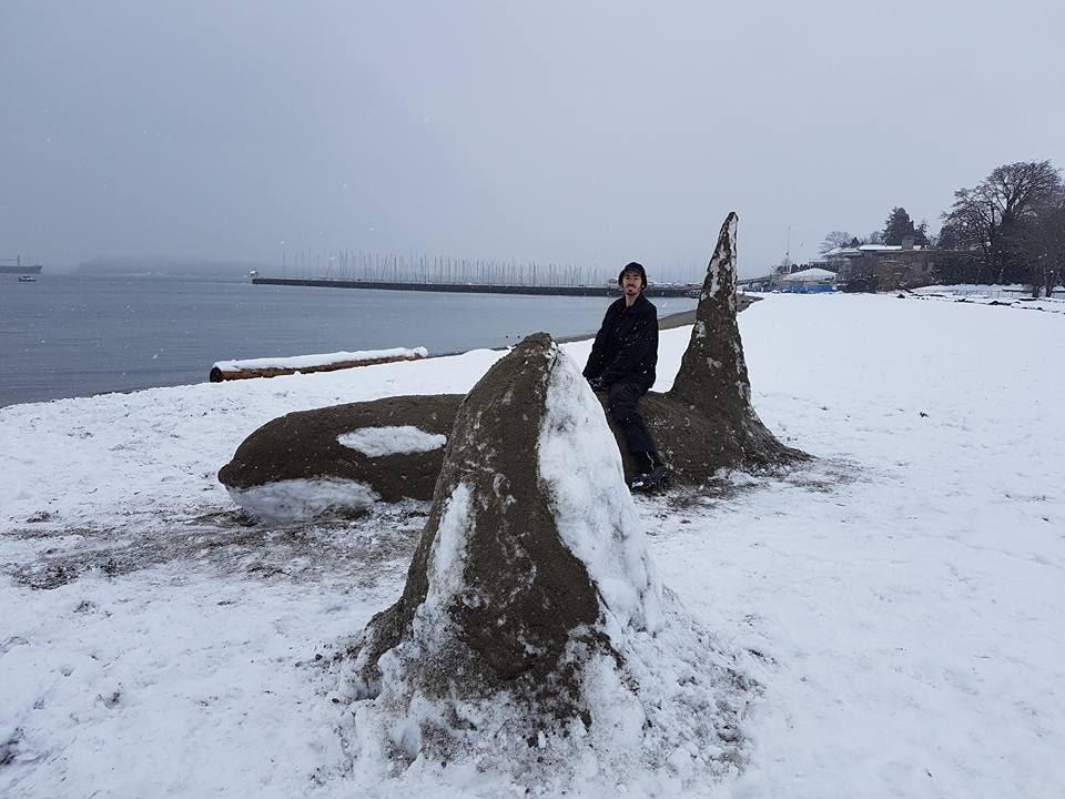 Snow orcas