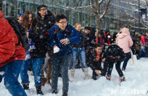 UBC Campus-Wide Snowball Fight Draws Over 3,000 People (PHOTOS)
