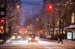 Snowfall Records Broken in Vancouver and Abbotsford