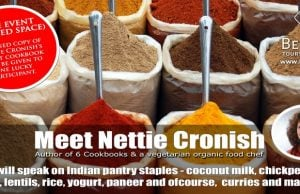 Experience the Diverse Cuisines of India with Nettie Cronish