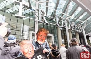 Protesters Crash Vancouver's Trump Tower Grand-Opening (Photos)