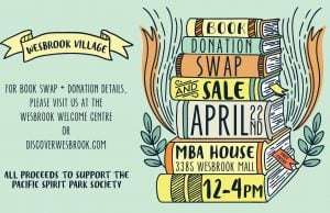 Wesbrook Book Donation, Swap, and Sale