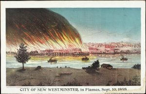 A Look Back At New Westminster's Great Fire of 1898