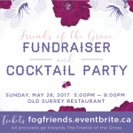 Friend of the Grove Fundraiser and Cocktail Party