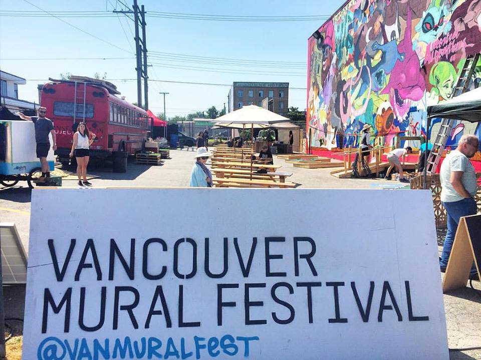 10 vancouver festivals every art lover should attend in for Mural vancouver