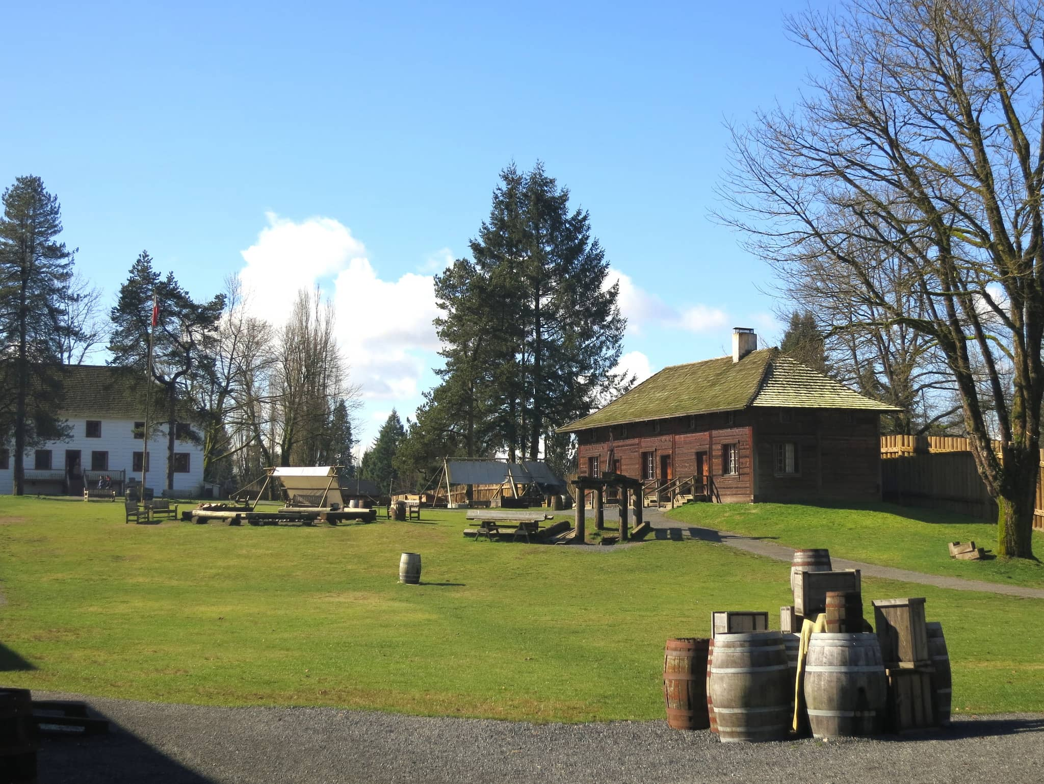 Fort Langley History