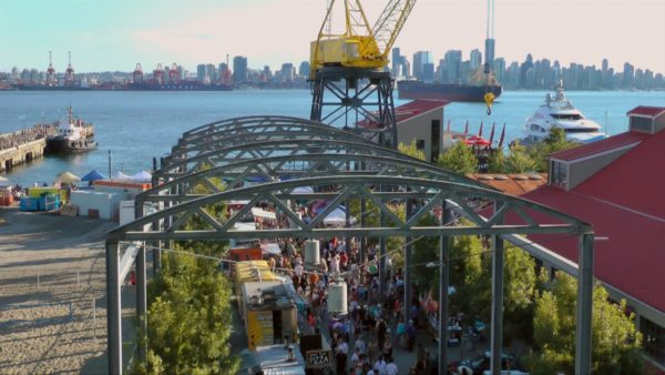 North Vancouver Shipyards Night Market