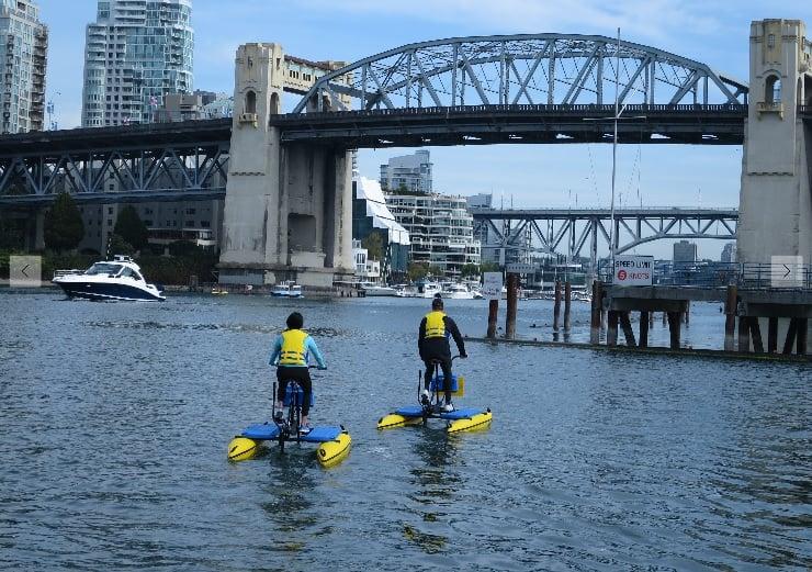 Water Bike Rentals Coming To English Bay S Vanier Park