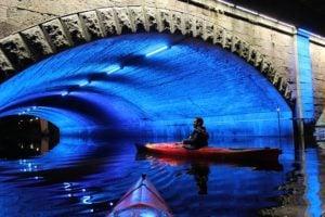 Illuminate The Dark With Deep Cove Kayak's Magical 'Friday Night Lights' Tour