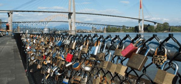 Love Locks New Westminster