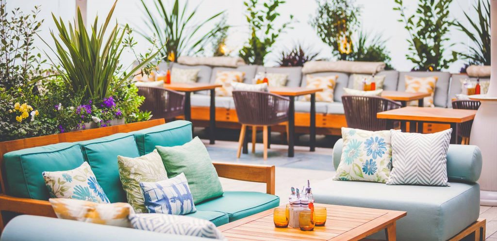 Reflections Garden Terrace Summer Patio Opening This April