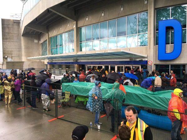 U2 Vancouver Fans BC Place