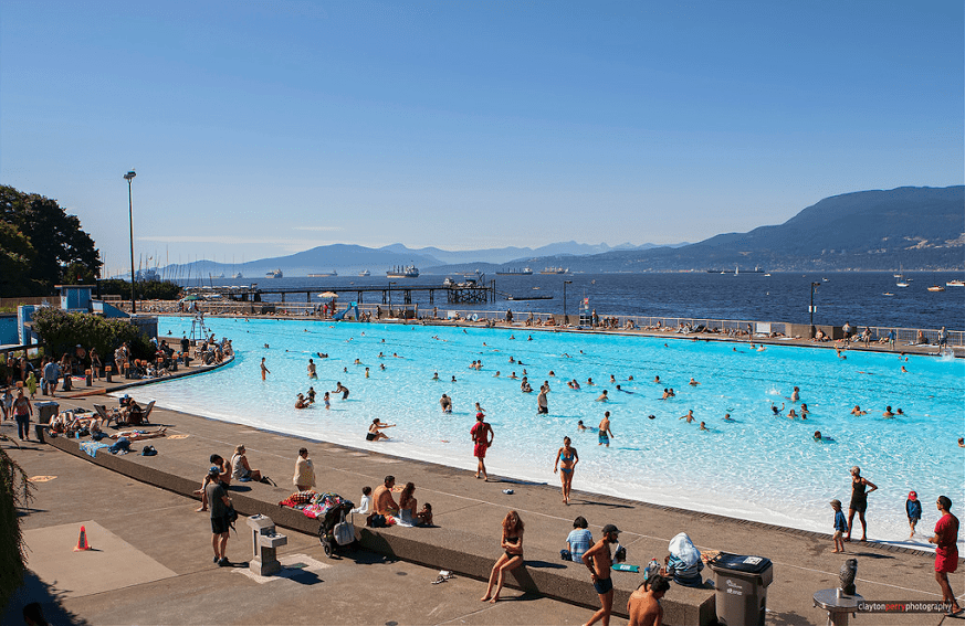 Kitsilano pool / Things To Do