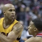 NBA Player Richard Jefferson Is In Vancouver