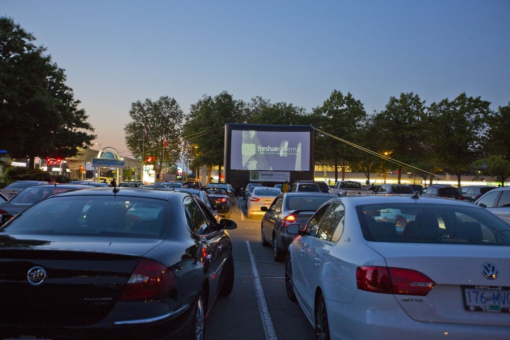 Starlight Theatre Drive-In Movie