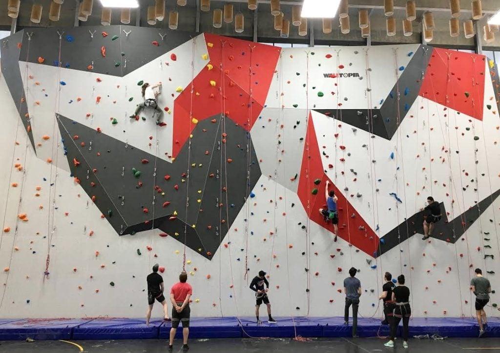 SFU Climbing Wall