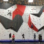 SFU Debuts New 32-Ft Indoor Climbing Wall