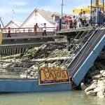 Pajo's Steveston Ramp Collapses; Leaves People Stranded On Floating Restaurant