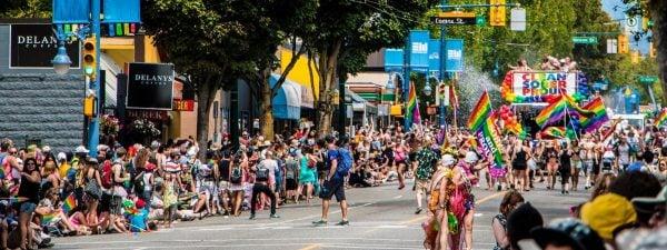 Pride parade events Vancouver