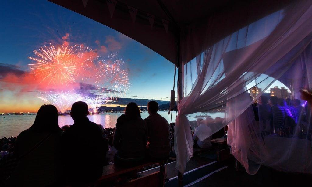 celebration of light fireworks