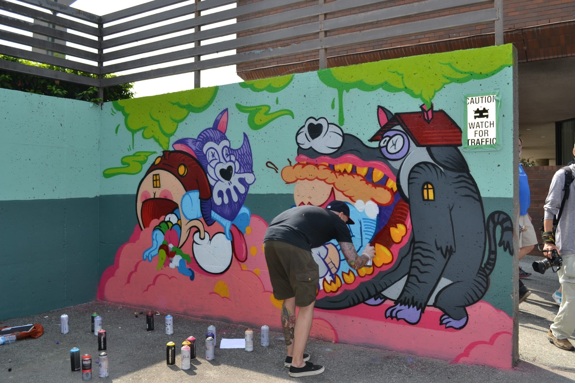 Vancouver 39 s second annual mural festival takes over mount for Mural festival