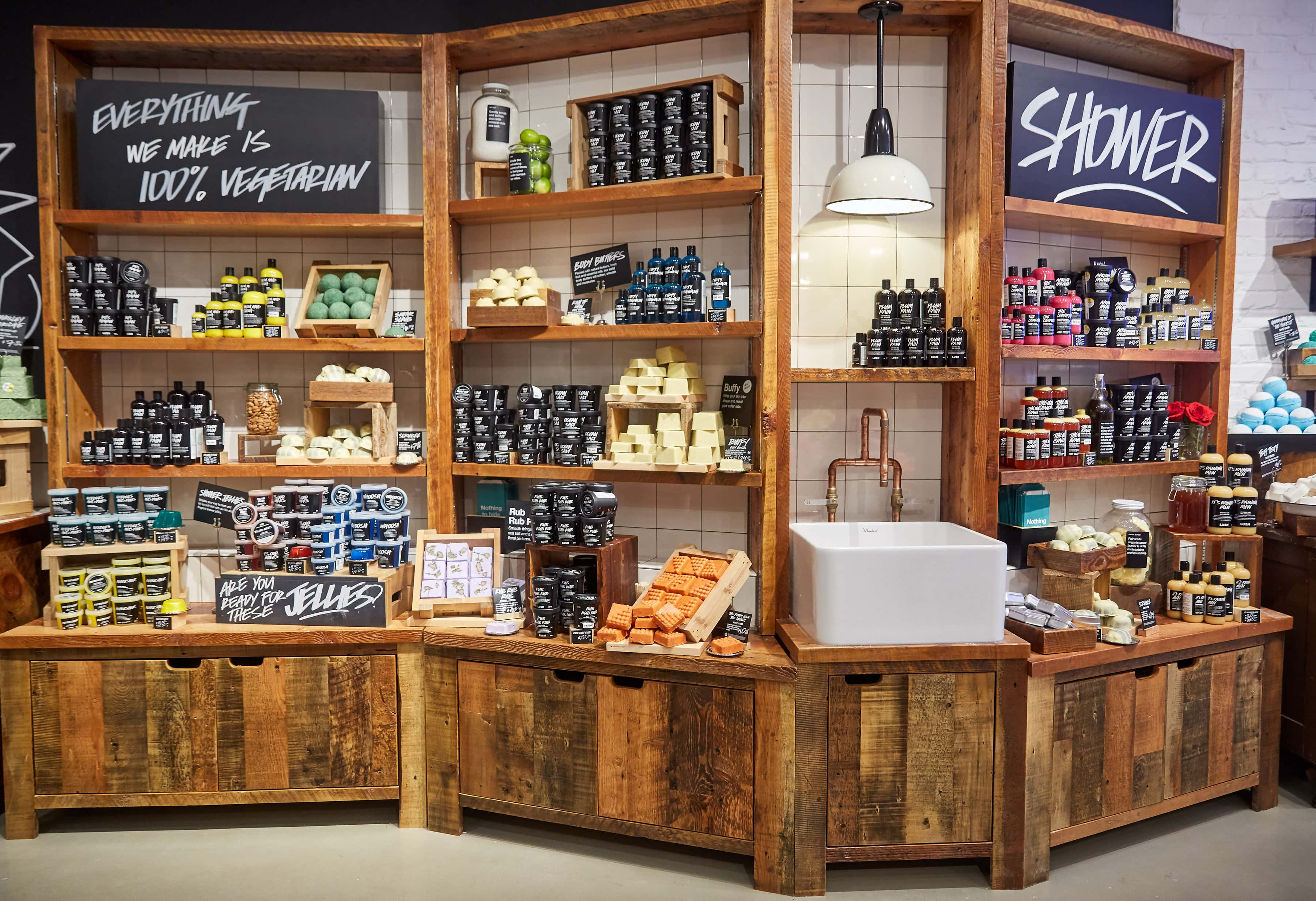 Lush Cosmetics Reopens Robson Street Flagship Location
