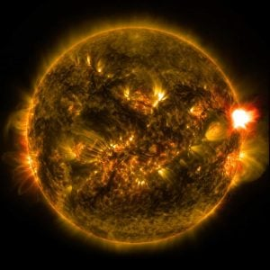 Solar Flare / Geomagnetic Storm