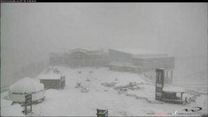 Whistler Blackcomb Receives First Snowfall Of The Season