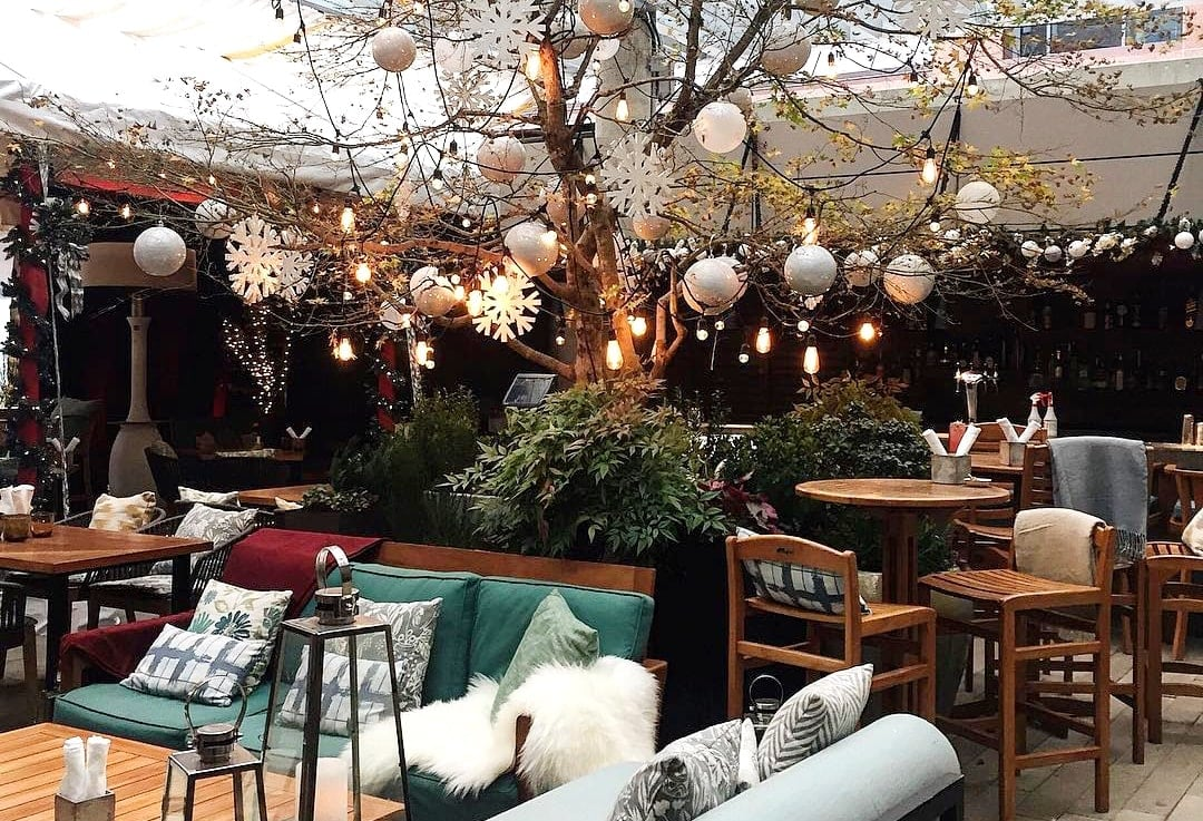 Reflections At Rosewood Hotel Georgia Opens Winter Wonderland Patio