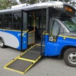 Translink Testing Comfortable Low-Floor Shuttle Buses In West Vancouver